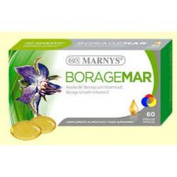 Boragemar - Aceite de Borraja 500 mg con vitamina E - Marnys - 60 cápsulas