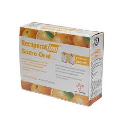 Recuperation Suero Oral SRO sabor naranja.