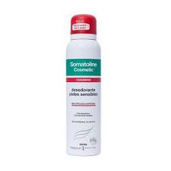 Desodorante Spray hombre piel sensible. Somatoline.