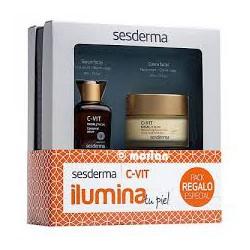 C-Vit Ilumina Crema + Serum. Sesderma.