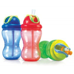 Botella con pajita Flip-it Nûby 300ml
