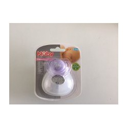Nuby Natural Touch Chupete Chupete 0-6 m Violeta Classic