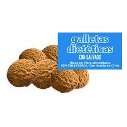 Galletas Dietéticas con salvado y sin azucar