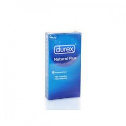 Preservativos Durex Love Sex Natural Plus 6 UD