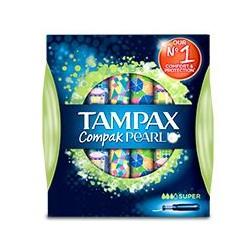 Tampax Pearl Compak Super 18 Unidades