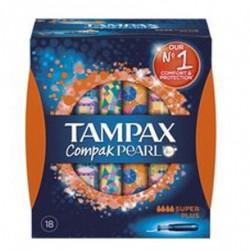 Tampax Compak Pearl Superplsus 18 Unid