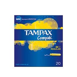 Tampones Tampax Compak regular 20