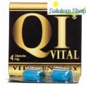QI Vital Energy 650 MG 4 Capsulas