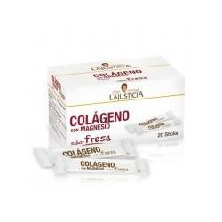 Colágeno magnésio Varas com sabor de morango. Ana Maria Lajusticia .