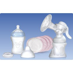 Set Breast Milk Softflex extraction . Natural Touch. Nuby .