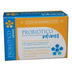 Probiotico infantil 8 viales. Valefarma.