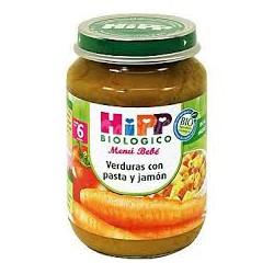 Hipp Biológico Menú bebe Verduras y arroz con pollo 190 gr.