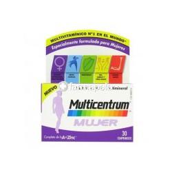 Multicentrum Mujer 30 comprimidos.