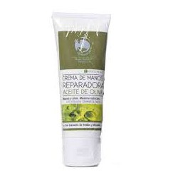 Parabotica hand cream with olive oil.