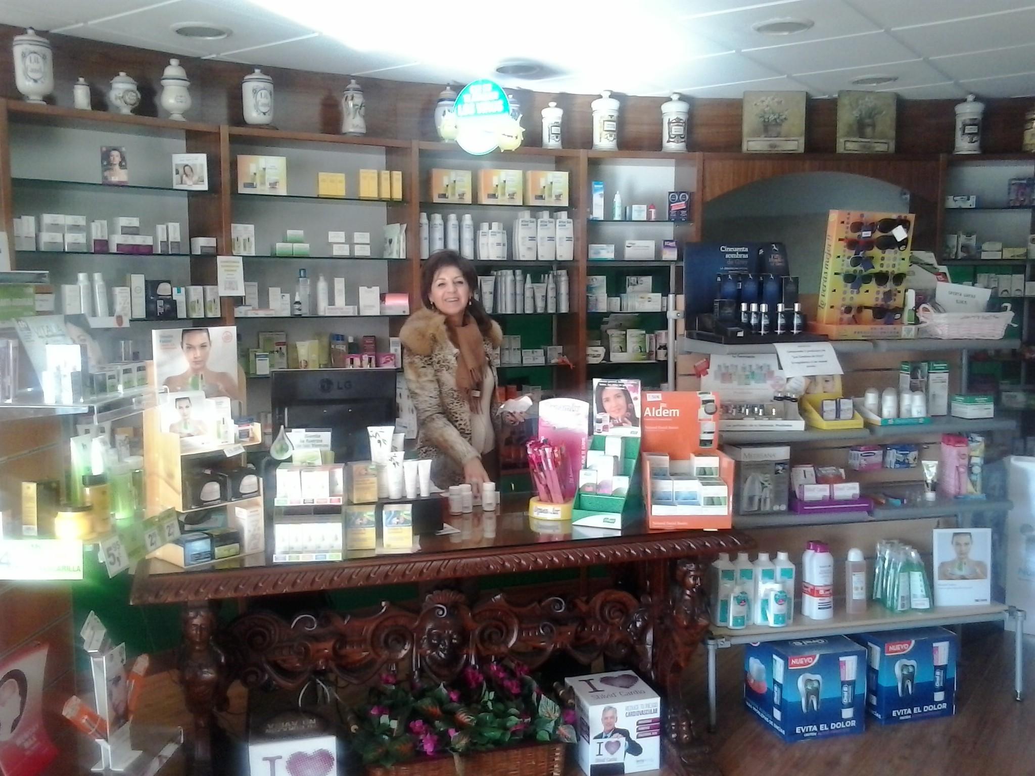 Teresa en Salutem Shop