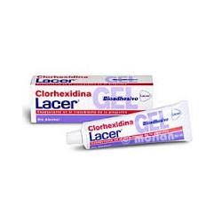 Clorexidina gel bioadesivo. Lacer.