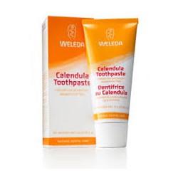 Calendula toothpaste. Weleda.