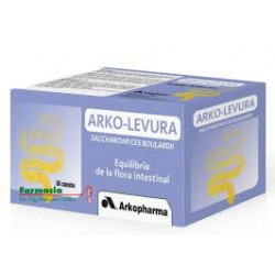 Arko Levura - Saccharomyces Boulardii. Arkopharma.improvement of intestinal flora.probiotic