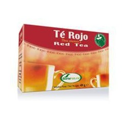 I filtri per infusione tè rosso . Soria Naturale.