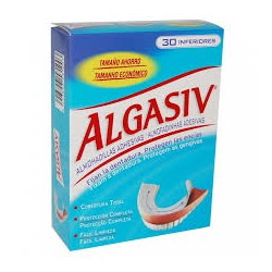 Algasiv Almohadillas adhesivas para parte inferior.