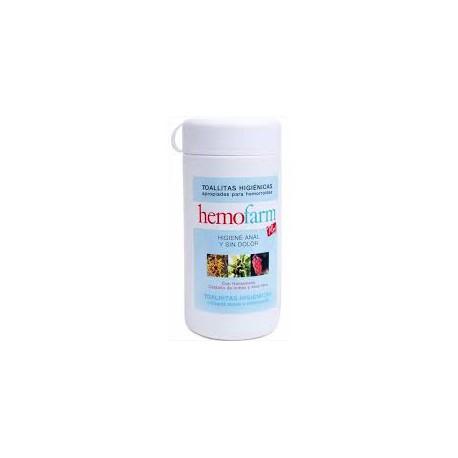 Hemofarm Plus 60 - Toallitas para hemorroides