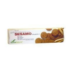 Cookies integral with sesame. Soria Natural.