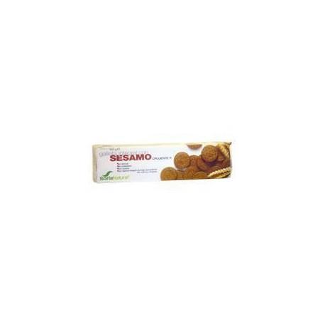Graham Cracker mit Sesam. Soria Natural.