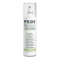 Pedi-Relax, pulverizador antiperspirante.