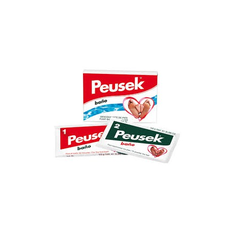 Peusek Baño - Polvo desodorante antitranspirante.
