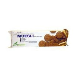 Biscoito integral com muesli. Soria Natural