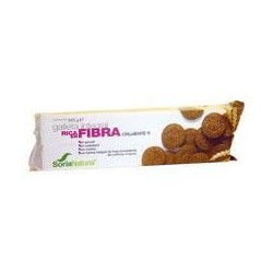 High fiber crackers. Soria Natural.