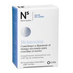 Mélatonine N + S. Cinfa.