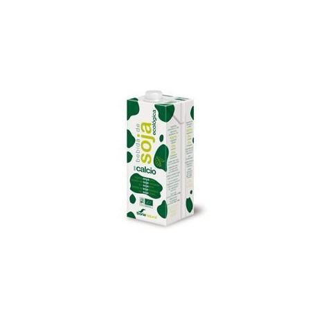 Органический соевый напиток . Сория естественным.