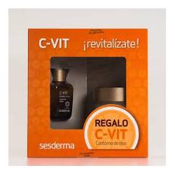 Liposomal C-Vit Serum + C-Vit Eye Contour. Sesderma.