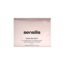 Skin Delight crema de día iluminadora revitalizante. Sensilis.