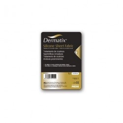 Dermatix Fabric, feuille de silicone 4X13cm.