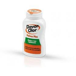 Devor-Olor desodorante en polvo para pies.