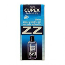 ZZ Loción peliculicida. Cupex.