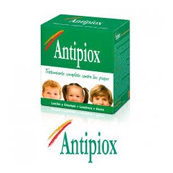 Antipiox Pack, lice shampoo + lotion.