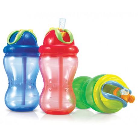 Botella con pajita Flip-it Nûby 300ml