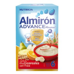 Almirón Advance Multigrain с фруктами 500гр