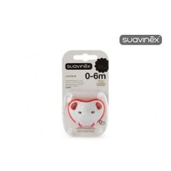 Suavinex® chupete Confort tetina látex 0-6 meses 1ud