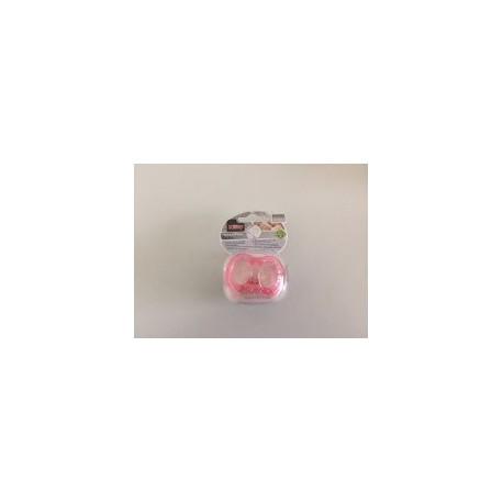 Chupete Natural Flex Natural Touch Silicona Nûby 0-6M fresa