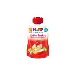 Hipp Sachet pomme, banane et fraise 90g