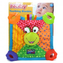 Anneau de dentition Nuby Mantita Animalitos Little Zoo + 3m
