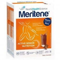 Product meritene Chocolate 15 Envelopes