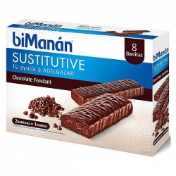 Bimanan Substitute Black Chocolate Bars Fondant 8 units