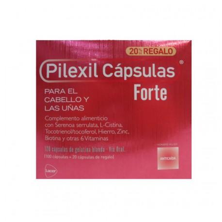 Pilexil Forte Anticaída 100 cápsulas + 20 de Regalo