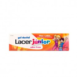 Lacer Junior Dental Gel Strawberry 75ml