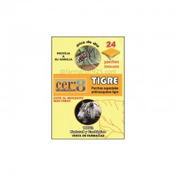 Cer'8 Tiger Anti-mosquito Patches